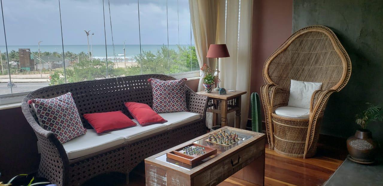 Apartamento alto padrão com vista mar